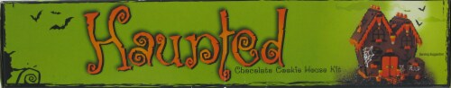 Create A Treat Haunted Chocolate Cookie House Kit Perspective: top