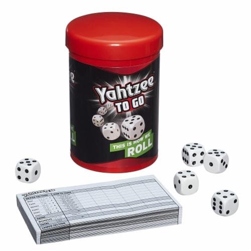 Hasbro Yahtzee to Go Game Perspective: top
