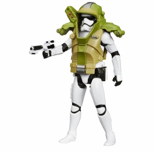 "Star Wars 3.75"" Armor Figure - First Order Stormtrooper Perspective: top"