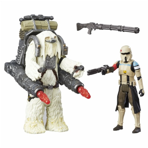 Star Wars Rogue One Scarif Stormtrooper & Moroff Deluxe Pack Perspective: top