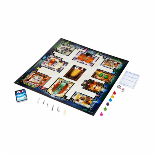 Hasbro Clue Board Game Perspective: top