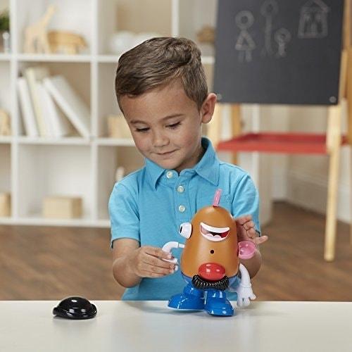 Playskool Mr. Potato Head Playset Perspective: top