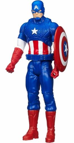 Hasbro Marvel Infinity War Titan Hero Series Captain America with Titan Hero Power FX Port Perspective: top