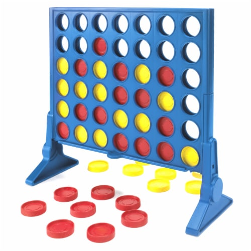 Hasbro Gaming Classic Connect 4 Game Perspective: top