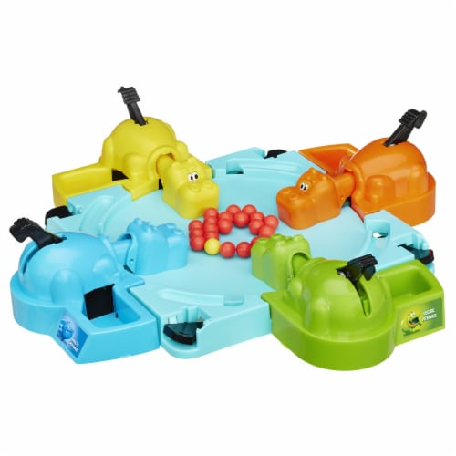 Hasbro Hungry Hungry Hippos Game Perspective: top