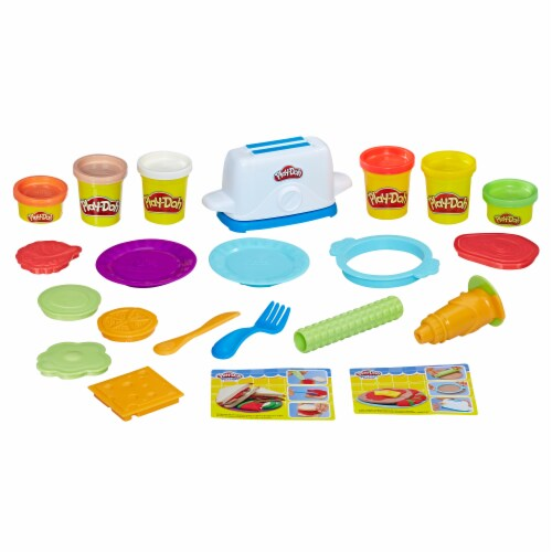 Hasbro Play-Doh Kitchen Creations Toaster Creations Set Perspective: top