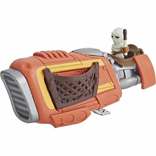 Hasbro Disney Star Wars Rey's Speeder Perspective: top