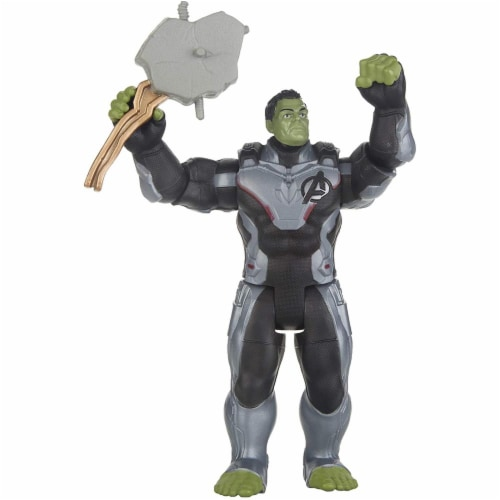 Marvel Avengers Team Suit Hulk Figure Perspective: top