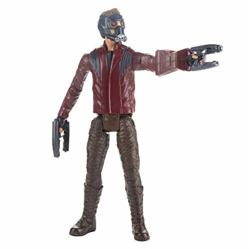 Marvel Avengers Titan Hero Series Star-Lord Figure Perspective: top