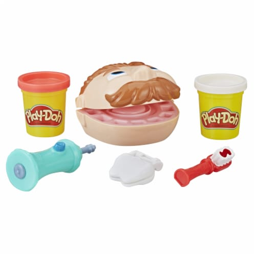 Play-Doh Mini Doctor Drill 'n Fill Modeling Compound Playset Perspective: top