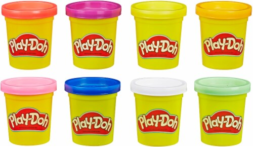 Play-Doh 8-Tube Starter Pack Perspective: top