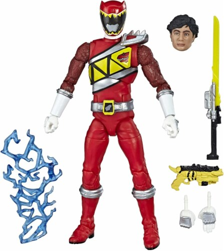 Power Rangers Lightning Collection 6 Inch Action Figure | Red Ranger Perspective: top