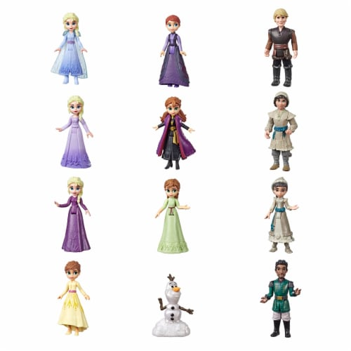 Hasbro Disney Frozen 2 Pop Adventures Series 1 Surprise Blind Box & Case Perspective: top