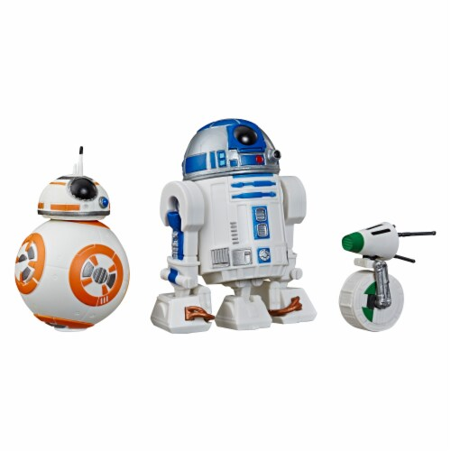 Hasbro Star Wars Galaxy of Adventures Toy Droid Figures Perspective: top
