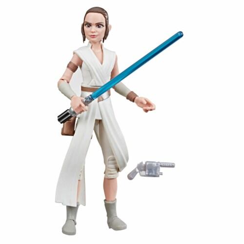 Hasbro Star Wars Galaxy of Adventures Rey Action Figure Perspective: top