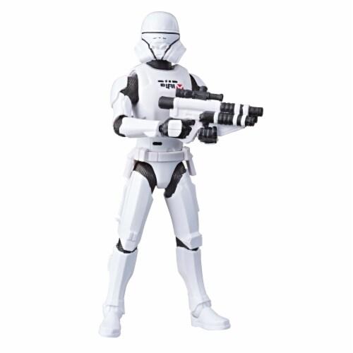 Hasbro Star Wars Galaxy of Adventures Jet Trooper Action Figure Perspective: top