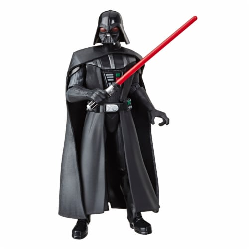 Hasbro Star Wars Galaxy of Adventures Darth Vader Action Figure Perspective: top