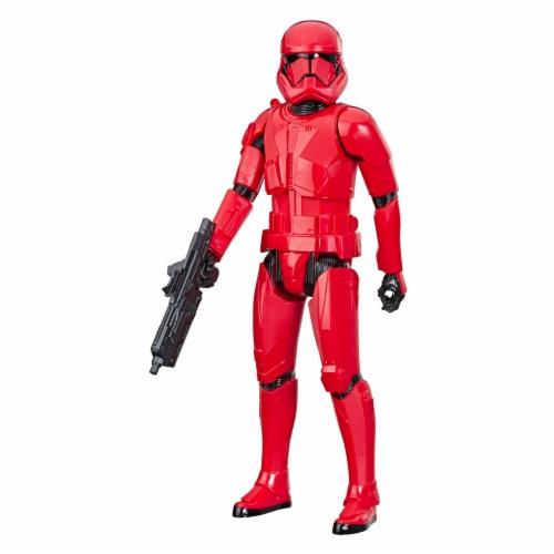 Hasbro Star Wars Hero Series The Rise of Skywalker Sith Trooper Action Figure Perspective: top