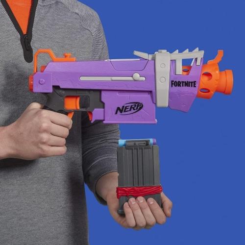 Nerf Fortnite SMG-E Blaster Perspective: top