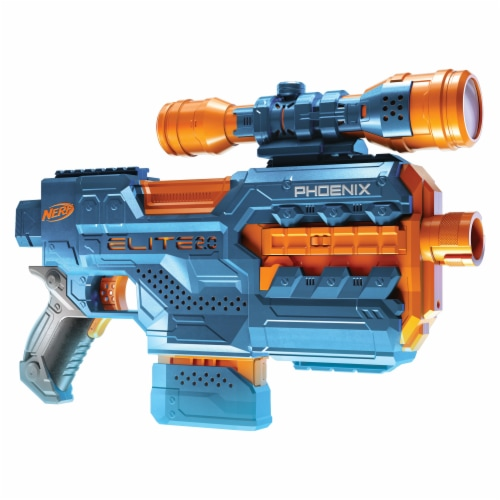 Nerf Elite 2.0 Phoenix CS-6 Motorized Blaster Perspective: top