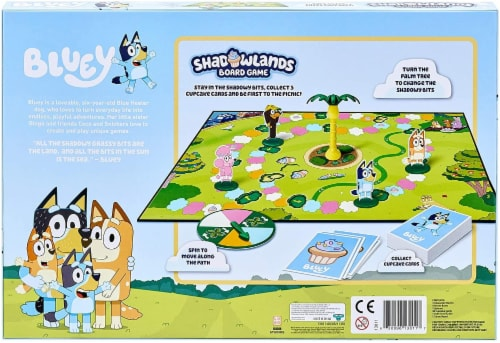Moose Bluey Shadowlands Family Board Game | For 2-4 Players Perspective: top
