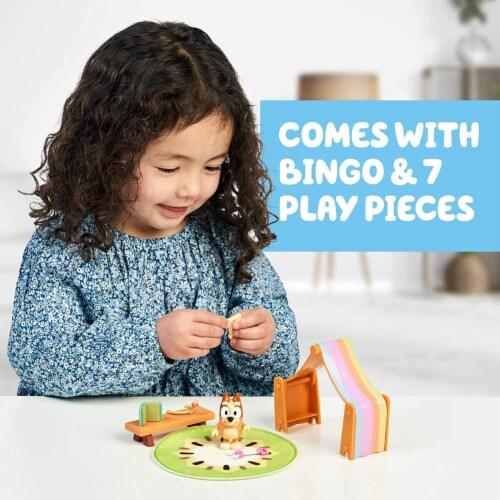 Bluey Playroom Action Figure Playset | Includes Bingo Perspective: top