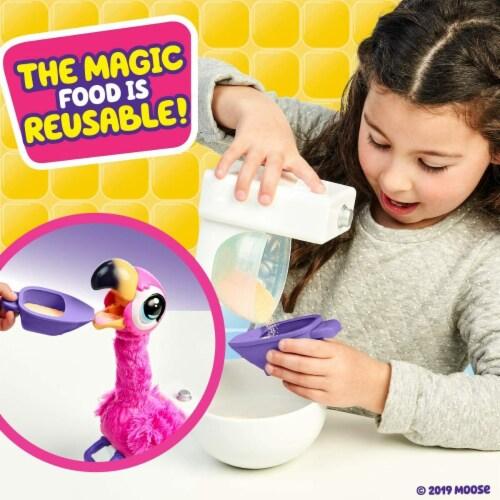 Little Live Pets Gotta Go Flamingo Toy Perspective: top