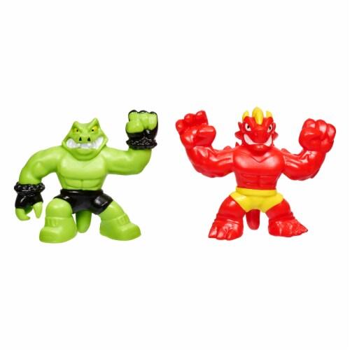 Moose Toys Heroes of Goo Jit Zu Minis Versus Pack - Assorted Perspective: top