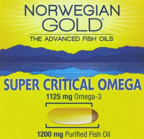 Norwegian Gold Super Critical Omega Fish Oils Perspective: top