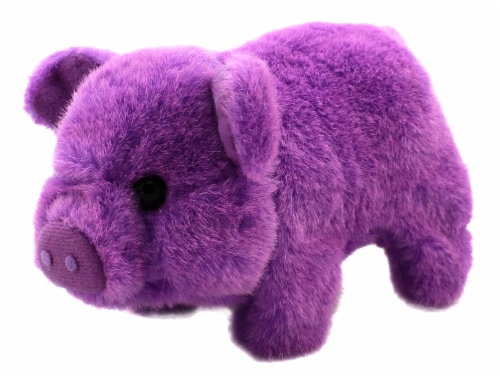 Bacon Bits Mechanical Pig - Purple Perspective: top
