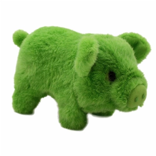 Bacon Bits Mechanical Pig - Green Perspective: top