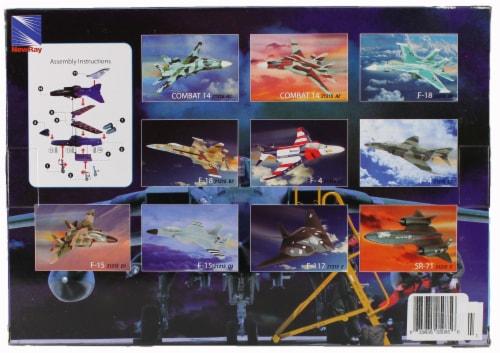 Snap Together Model SR-71 Blackbird Jet Fighter Perspective: top