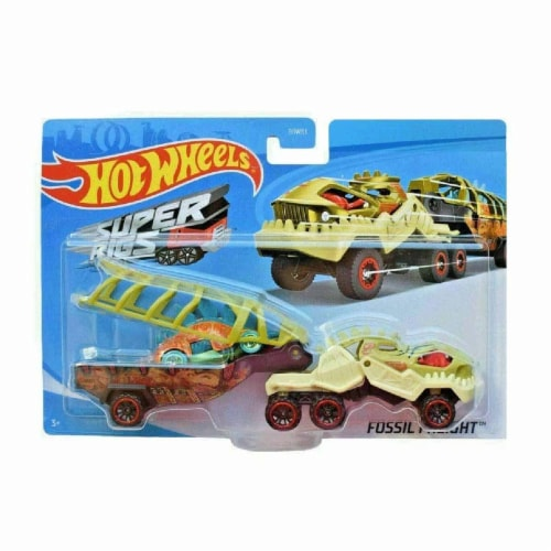 Hot Wheels Super Rig, Fossil Freight Perspective: top