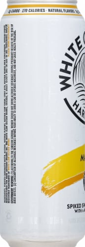 White Claw Mango Spiked Seltzer Perspective: top