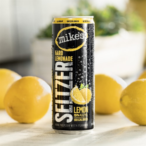 Mike's Hard Lemonade Seltzer Variety Pack Perspective: top