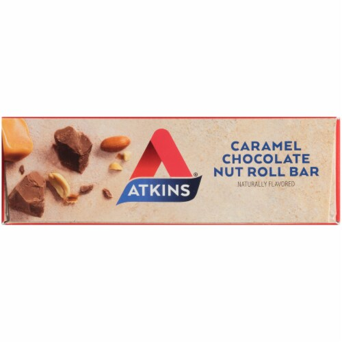 Atkins® Caramel Chocolate Nut Roll Value Pack Perspective: top