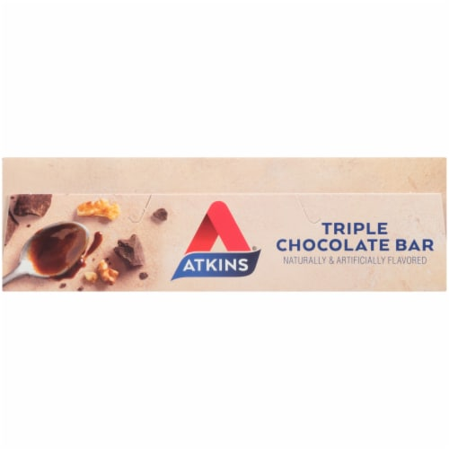Atkins® Triple Chocolate Snack Bars Perspective: top