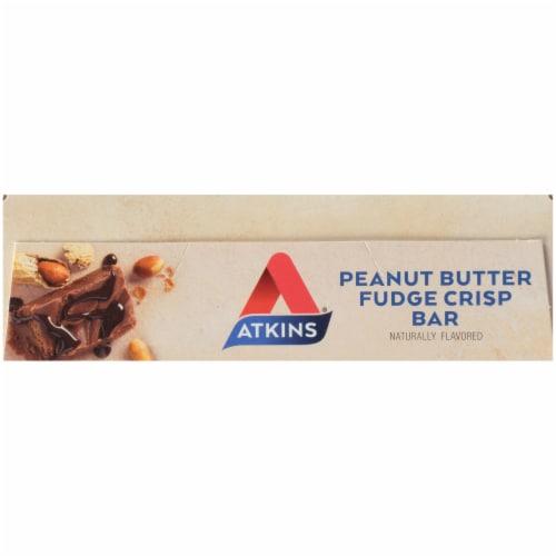 Atkins® Day Break Peanut Butter Fudge Crisp Bars Perspective: top