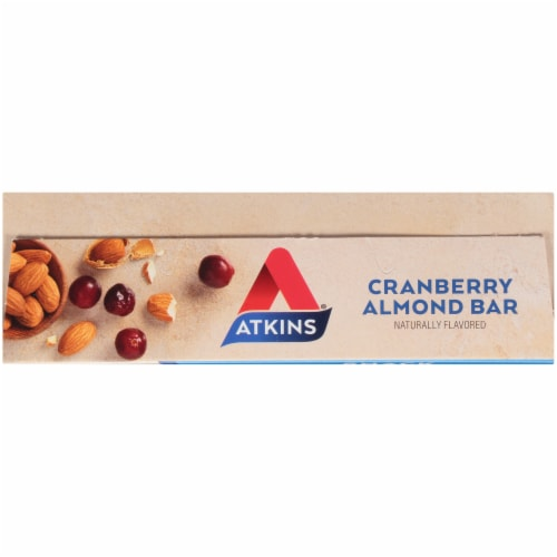 Atkins Cranberry Almond Bars Perspective: top