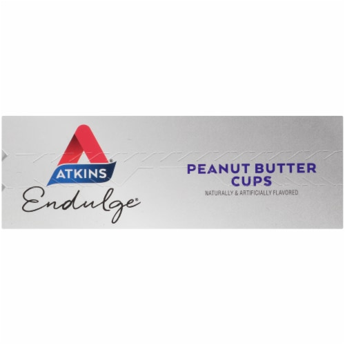 Atkins Endulge Peanut Butter Cups Perspective: top