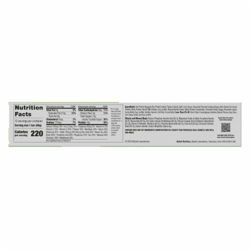 ZonePerfect Chocolate Mint Nutrition Bars Perspective: top