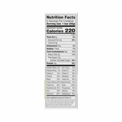 ZonePerfect® Chocolate Mint Nutrition Bars Perspective: top