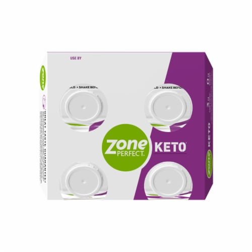 ZonePerfect Keto Chocolate Ready to Drink Shakes Perspective: top