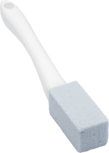 ToiletStone Cleaning Block - White Perspective: top
