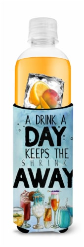 A Drink a Day Sign Michelob Ultra Hugger for slim cans Perspective: top