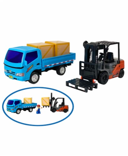 Big Daddy Light Weight Forklift & Construction Truck combo Perspective: top