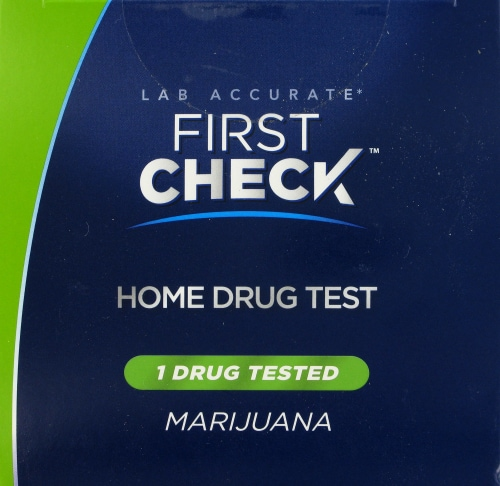 First Check Marijuana Home Drug Test Perspective: top
