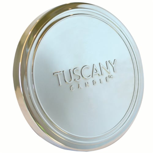 Tuscany Candle Pomegranate Fizz Scented Triple Pour Jar Candle Perspective: top