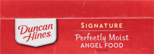 Duncan Hines Signature Angel Food Cake Mix Perspective: top