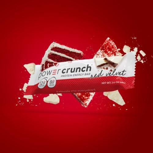 Power Crunch® Red Velvet Protein Energy Bar Perspective: top